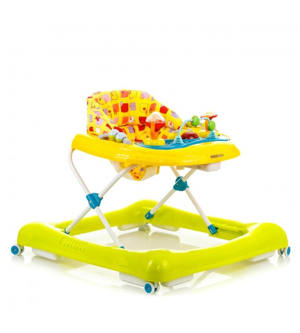 Ходунки Mioobaby Baby Walkers XA10 Yellow-Green